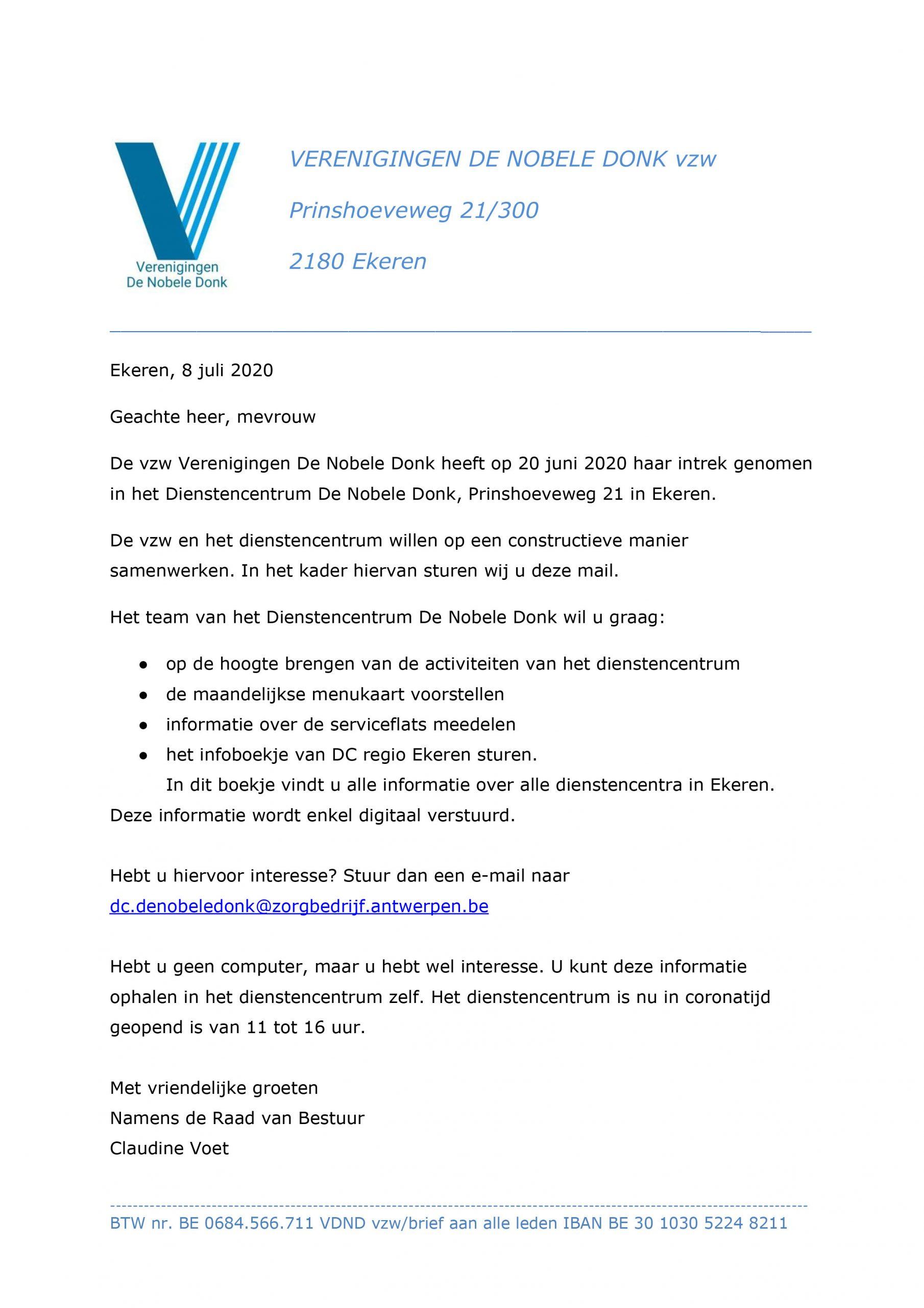 2020-07-08 Brief leden verenigingen CV